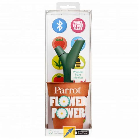 Parrot Flower Power Green
