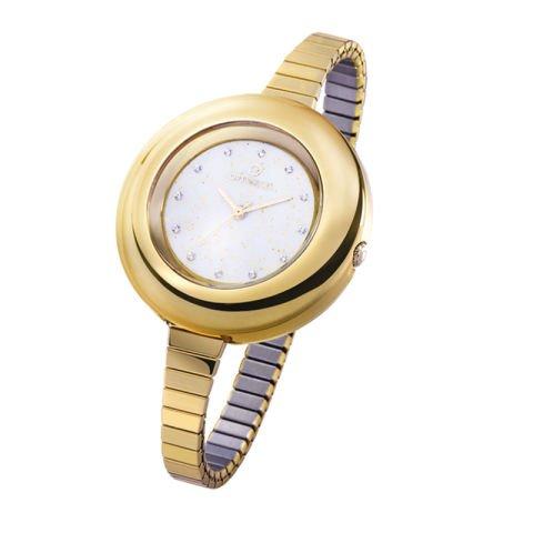 Reloj destellos oro