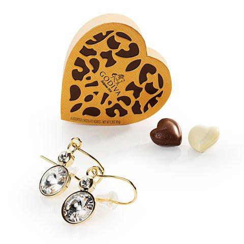 'Boléro' : Boucles d'oreilles et chocolats