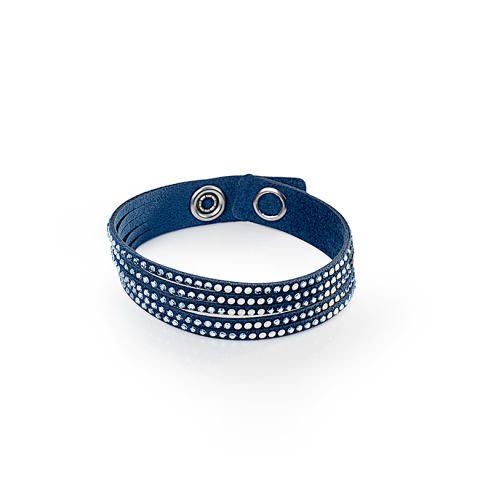 Bracelet 'Simple Twist' avec cristaux de Swarovski