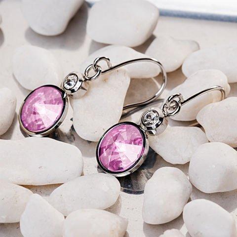 Ohrringe mit Swarovski-Kristallen