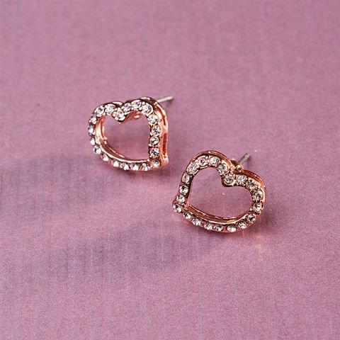 Boucles ornées de cristaux Swarovski